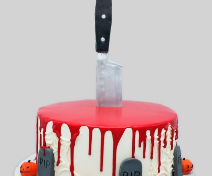 Babys 1st Birthday Other Cakes Blood Drip